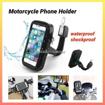 360° Degree Rotation Waterproof Zipper Bag Motorcycle / Bike Mobile Phone Handlebar Holder ( H056 / H066 / H067 )
