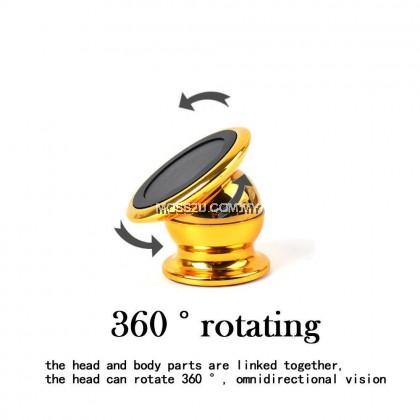 Universal 360° Aluminium Magnetic Rotation Car Mount Holder ( H005 )