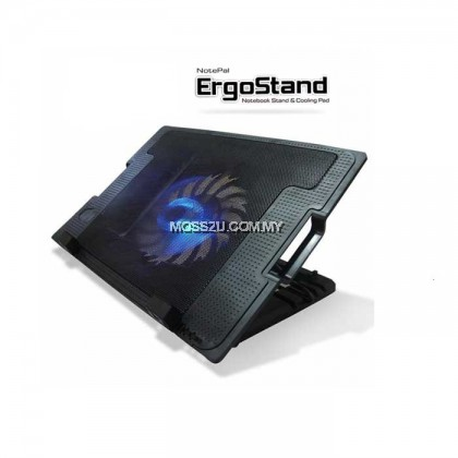 Notebook Stand Ergostand Cooling Pad Adjustable Angle Stand