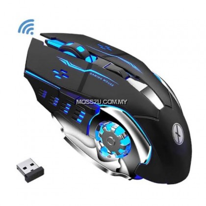Wireless Zornwee Mouse Rechargeable Charging Gaming Mouse ( CH001 )