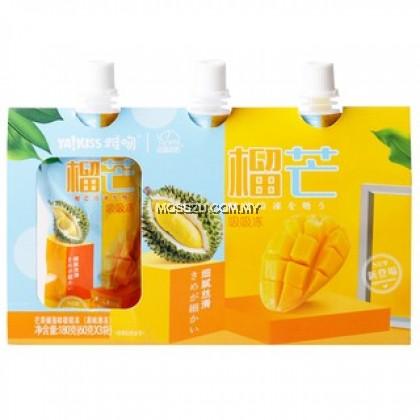 【 Ya Kiss 雅吻 】可吸果冻 Mango Pearl Milk Tea Macchiato Coco White Peach Durian Mango Lemon Black Tea Jelly