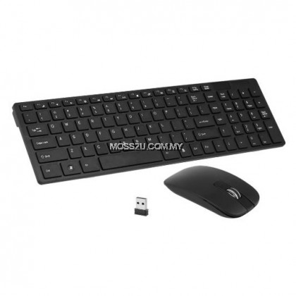 2 in 1 Combo Set - USB Wireless 2.4G  Keyboard and Mouse ( K06 )