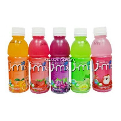 【 J-MIX 】Drinks Jelly Carrageenan with Nata De Coco Juice 200ml
