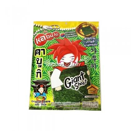 Kabuki Giant Sheet Seaweed Original / Paprika 60g