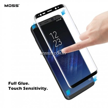 Huawei P30 / P40 / P40 Pro MOSS 111D Full Cover Curved Clear Tempered Glass