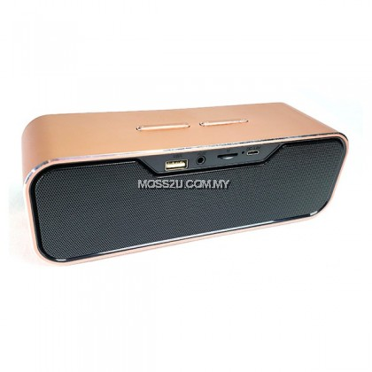 Portable Bluetooth Speaker With Strong Bass Support TF Card Portable Audio Player ( SLC188 )
