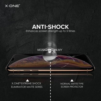 Oppo Reno 2 / 2F / 2Z X-One Extreme Shock Eliminator ( 3rd Generation ) Matte Screen Protector