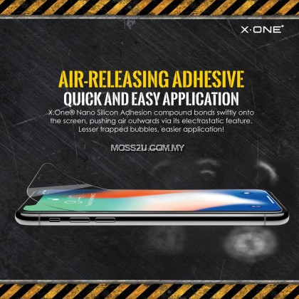 Realme X2 Pro / X3 / XT / Narzo 20 Pro X-One Extreme Shock Eliminator ( 3rd Generation ) Clear Screen Protector